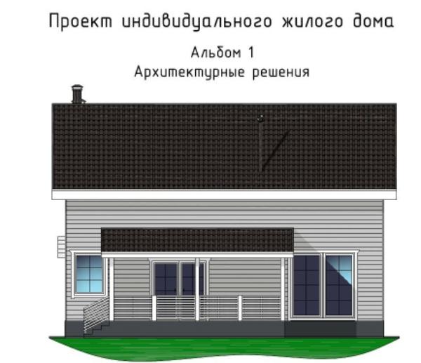 Каркасный дом 7х11 с полами по грунту