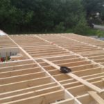 Каркасный дом 7х11: балочный настил перекрытия