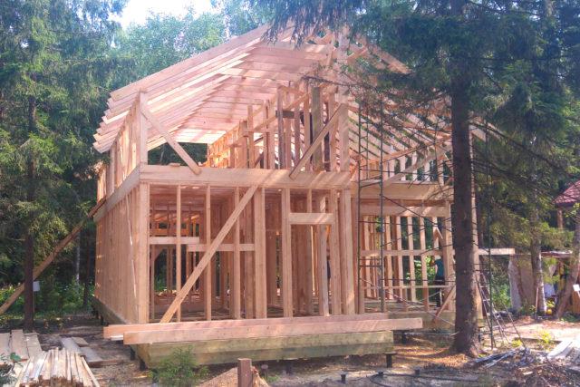 Каркасный дом 9.5х12: новый проект