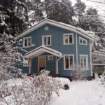 Каркасный дом 9,5х11