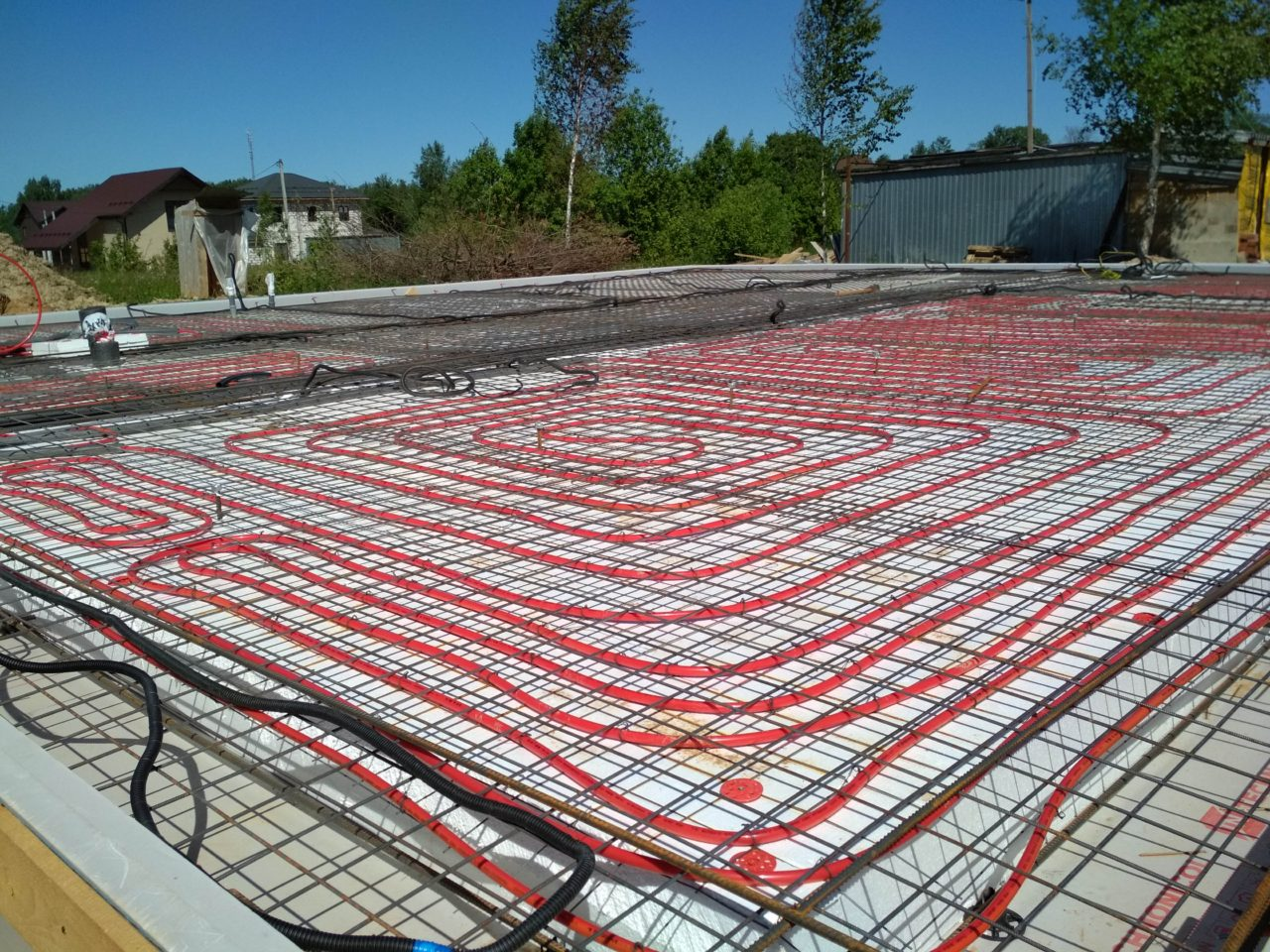 Фундамент УШП — утепленная шведская плита