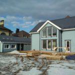 Каркасный дом на УШП (проект КД-27)