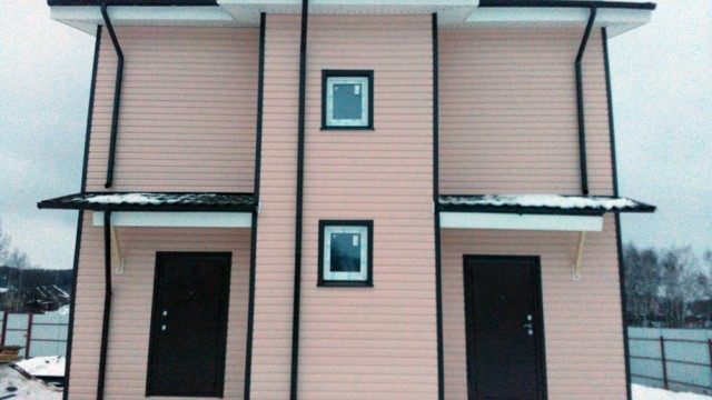 Каркасный дом 8х8, 2 этажа