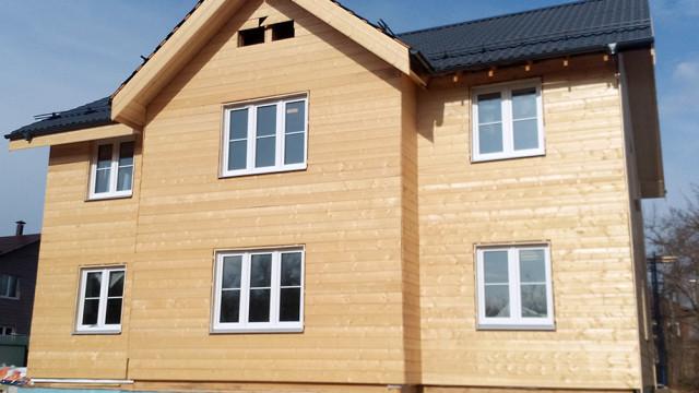 Каркасный дом 300 м2, 2 этажа